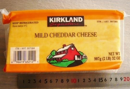 コストコ チェダー チーズ