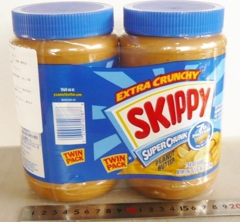 ピーナッツ バター skippy